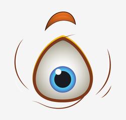 Shocked Alien Eye