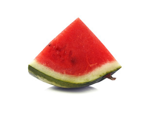 Slices of watermelon isolate on white background