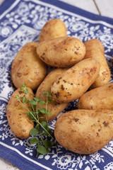 Rohe Kartoffeln festkochend