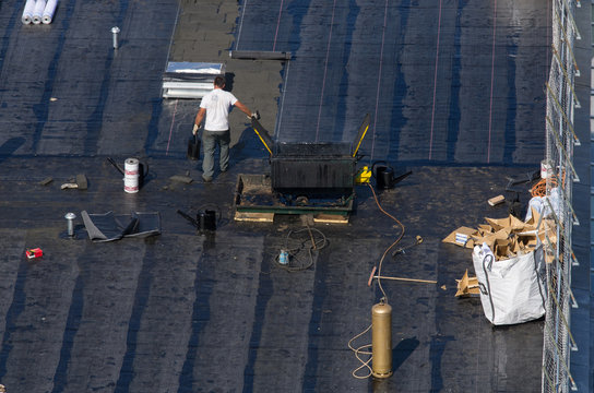 Étanchéité d'un toit plat