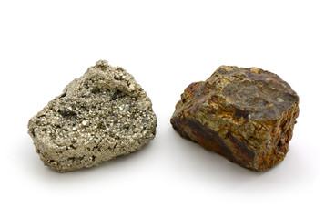 Pyrit-Steine