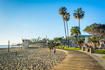 Main Beach Park, in Laguna Beach, California. Wall mural