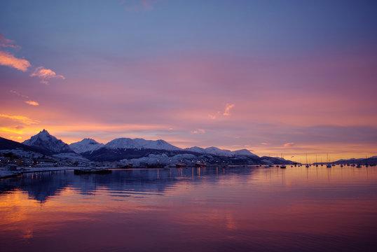 Bahía de Ushuaia, Tierra del Fuego, Patagonia