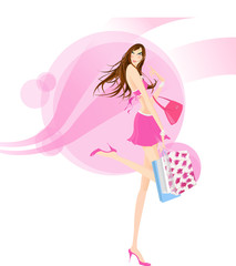 패션과 여자