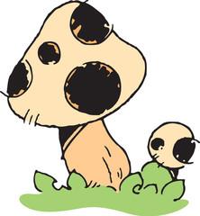 버섯이미지