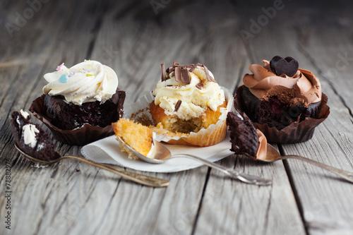 кексы крем шоколадный ореховый cupcakes cream chocolate walnut загрузить