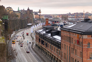 view in Stockholm