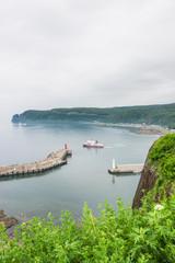 知床半島 ウトロ港