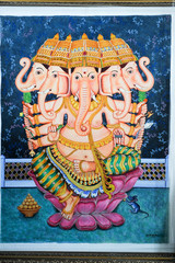 Painting of Ganesh