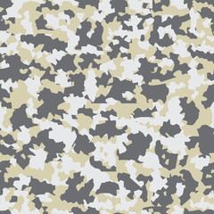 seamless background with camouflage