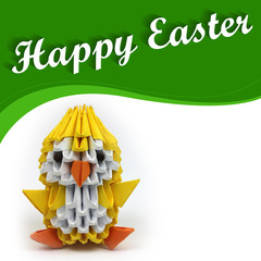 Happy Easter - chicken