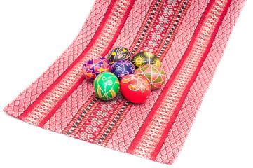 some Easter Eggs Pysanka