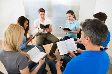Friends Reading Bible