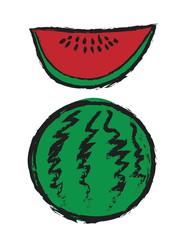 doodle watermelon
