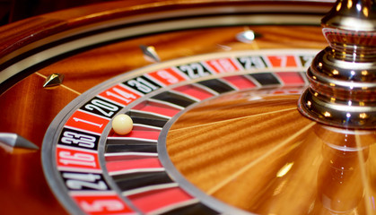 number one at roulette wheel