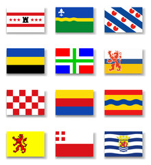Netherlands Province Flag Collection-Complete