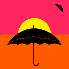Parapluie pop art