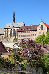 Gymnasium und Kirche Maria-in-vinea, Warburg
