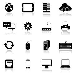 Mobile Technology Icon Set