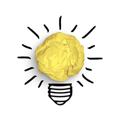 bulb idea concept vector