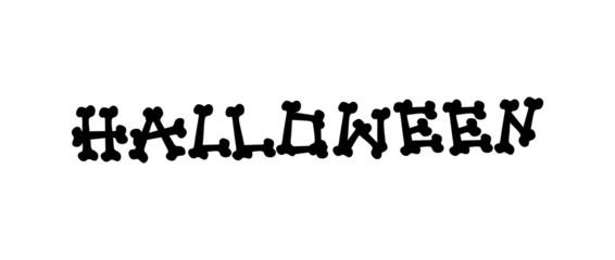 Hallowen Text Banner