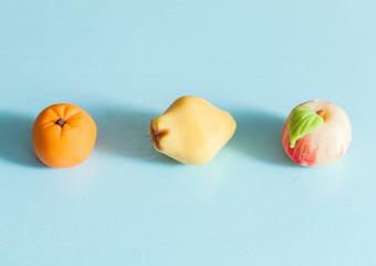 macro fruit sweets