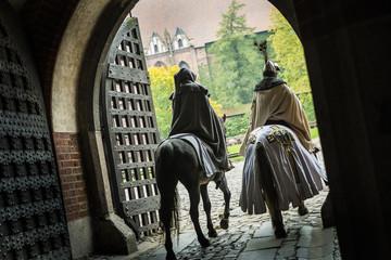 teutonic Knights, Malbork. Poland