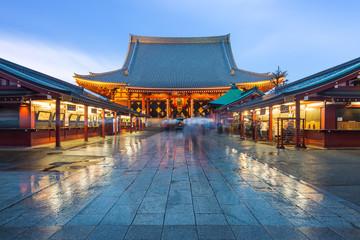 Staande foto Tokyo Sensoji Temple in Asakusa, Japan