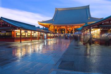 Wall Mural - Sensoji Temple in Asakusa, Japan