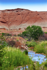 Red Mountain Fremont River Capitol Reef National Park Utah