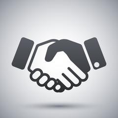 Vector handshake icon