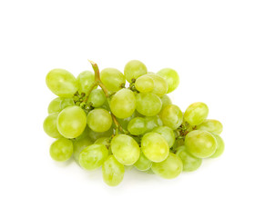 ripe and juicy green grapes