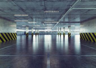 parking. 3d concept