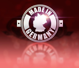 Made in Germany - Flare Rot.