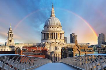 Photo sur Plexiglas Londres London - Cathedral St. Paiul, UK
