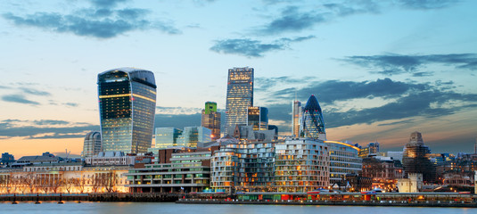 Fotobehang Londen City of London, UK