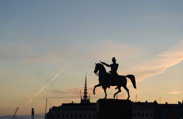 Sunset in Stockholm