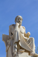 Fototapete - Socrates,ancient greek philosopher