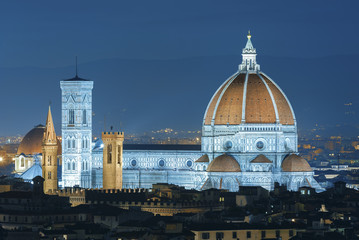 Fototapete - Italy. Florence. Cathedral Santa Maria del Fiore