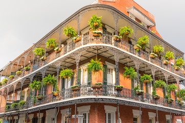 New Orleans Balcony V