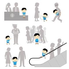 Child Safety Missing Negligence Set