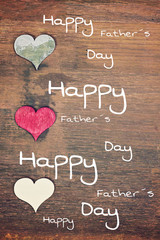 lovely greeting card - happy fathers day