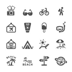 travel icon set 2, vector eps10