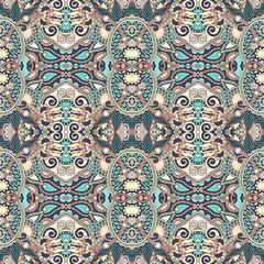 authentic seamless floral geometric pattern, ethnic ukrainian ba