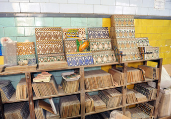 Old store, ceramics and tiles