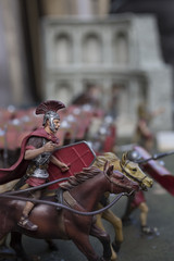 Miniature of roman empire' soldiers