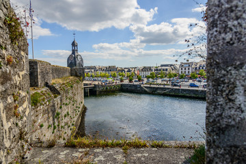Bretagne_Concarneau_Blick auf die Stadt