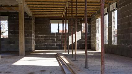 chantier maison neuve
