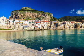 sea-front view of Cefalu