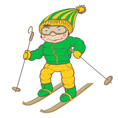 ski player